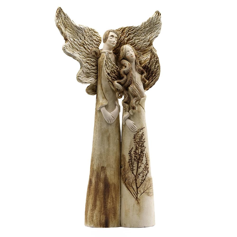 Anioł para ceramiczna