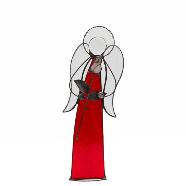 witraż anioł