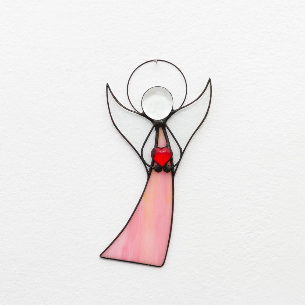 anioł z serduszkiem