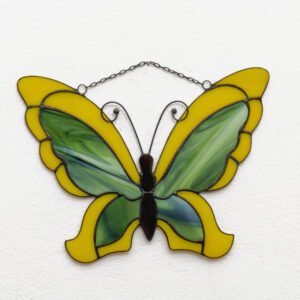 witraż motyl