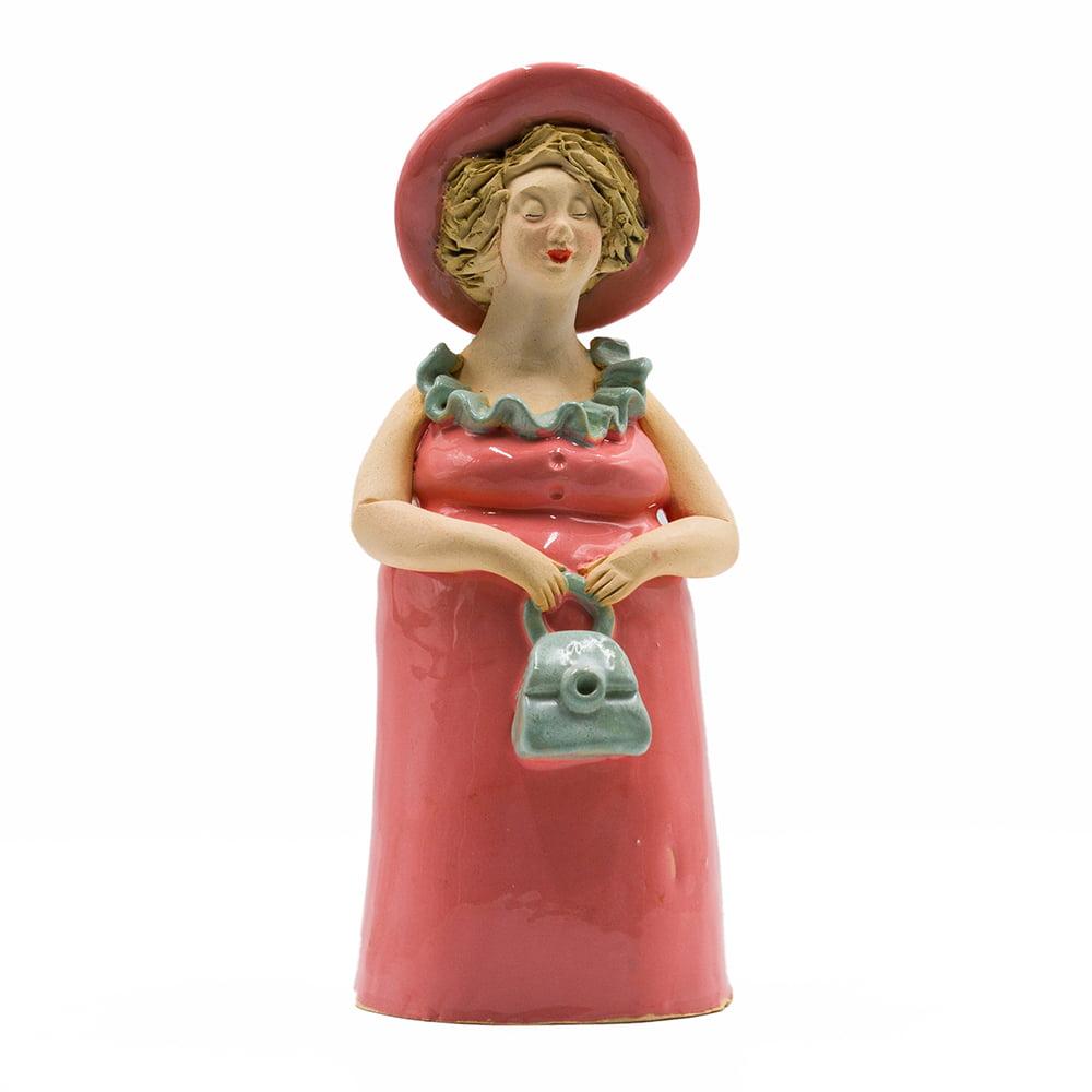 kobieta z torebka