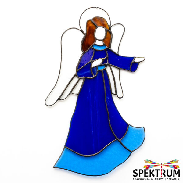 Witraż Anioł w sukni