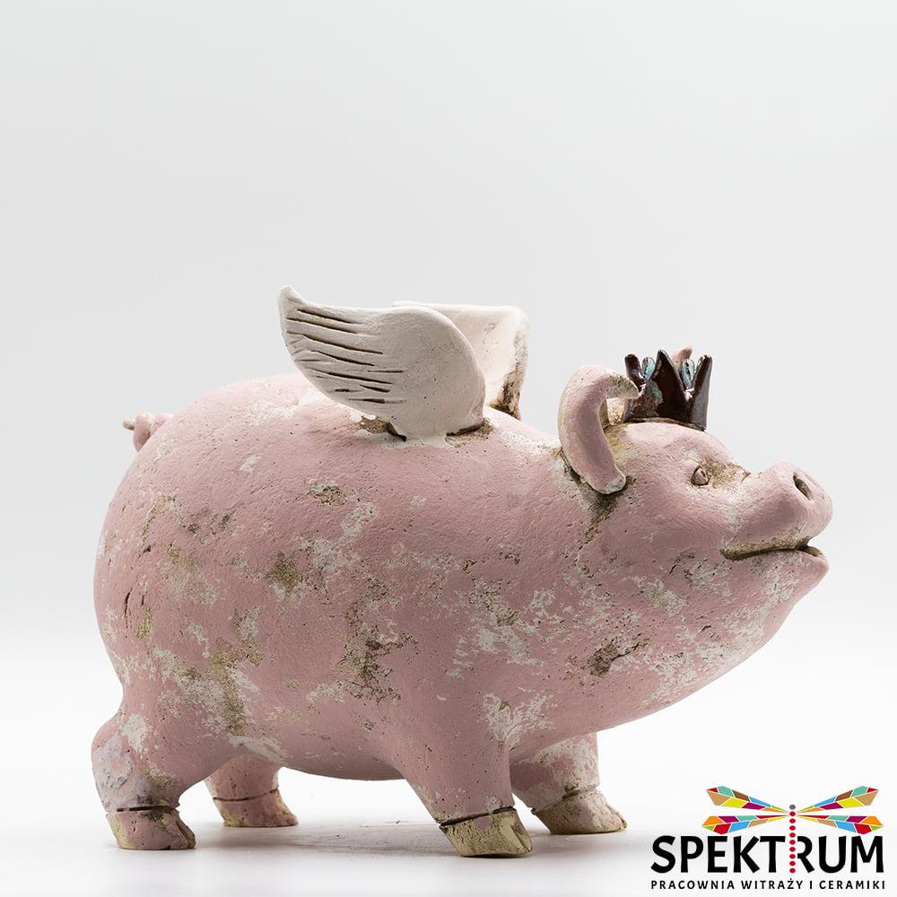 figurka świnka