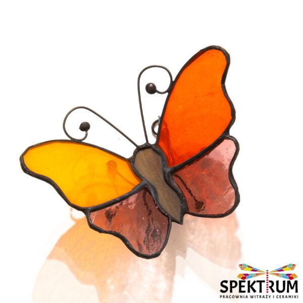 Witraż motyl przestrzenny