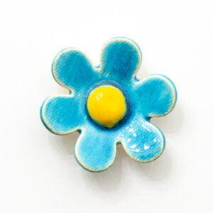 kwiat ceramiczny stokrotka