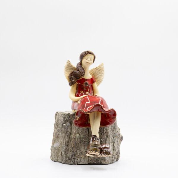 Anioł w glanach