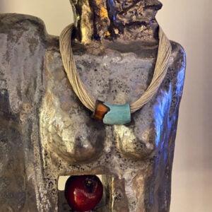 naszyjnik ceramiczny