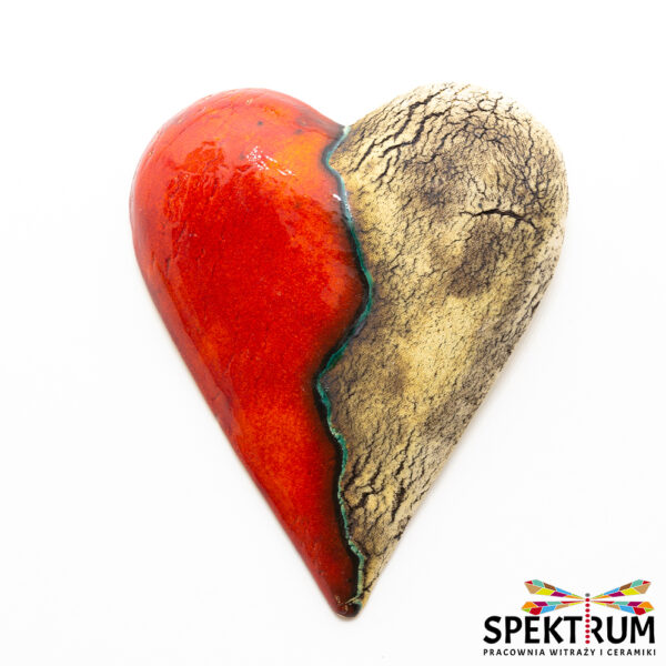 serce ceramiczne