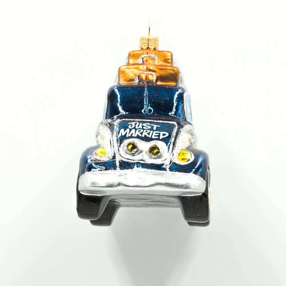 Bombka Auto nowożeńców