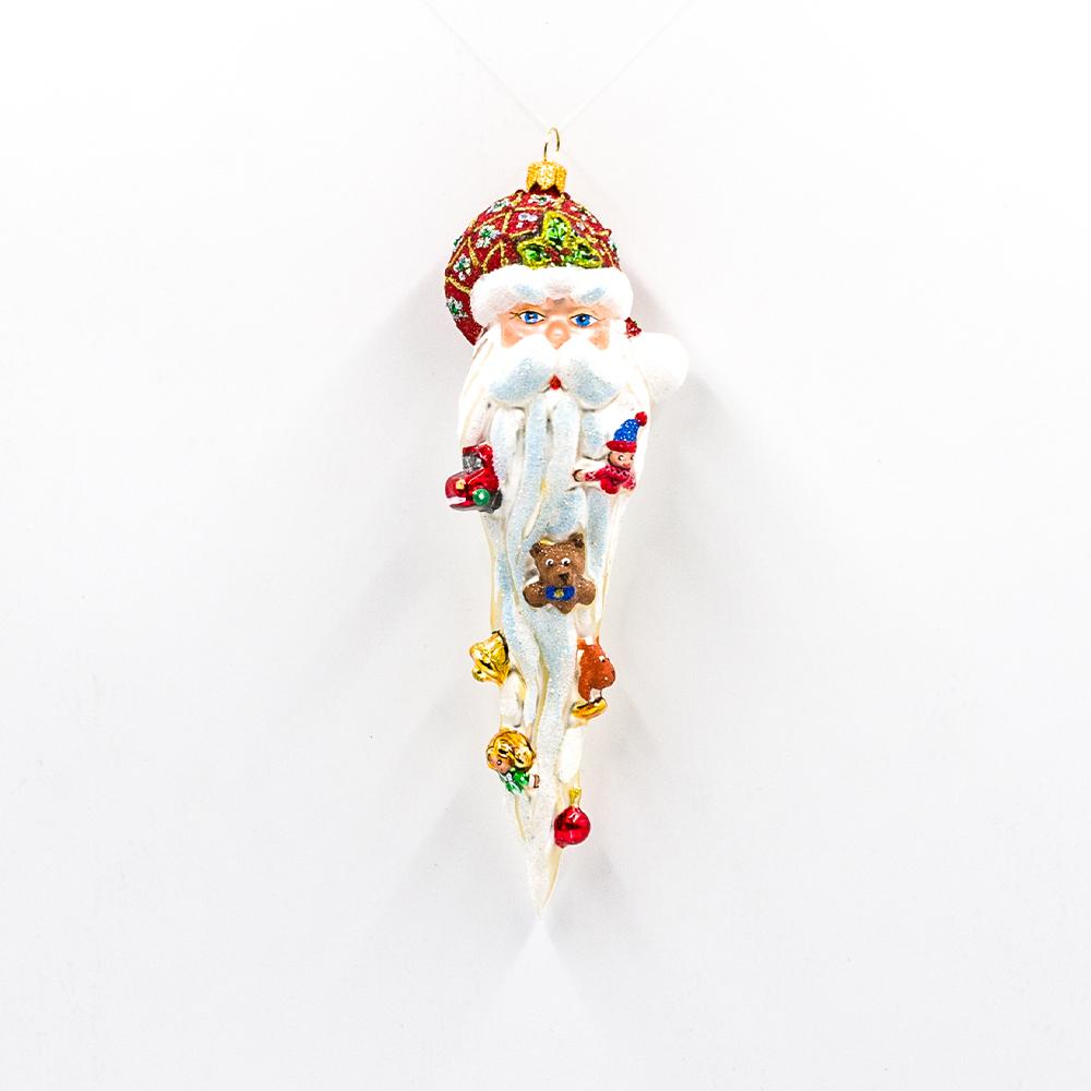 Bombka Głowa Mikołaja