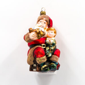 Mikołaj z samolotem