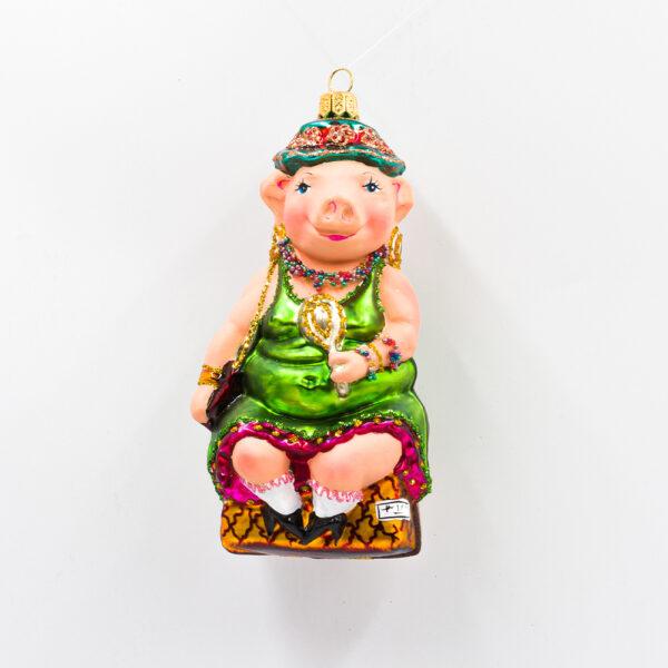 Bombka świnka