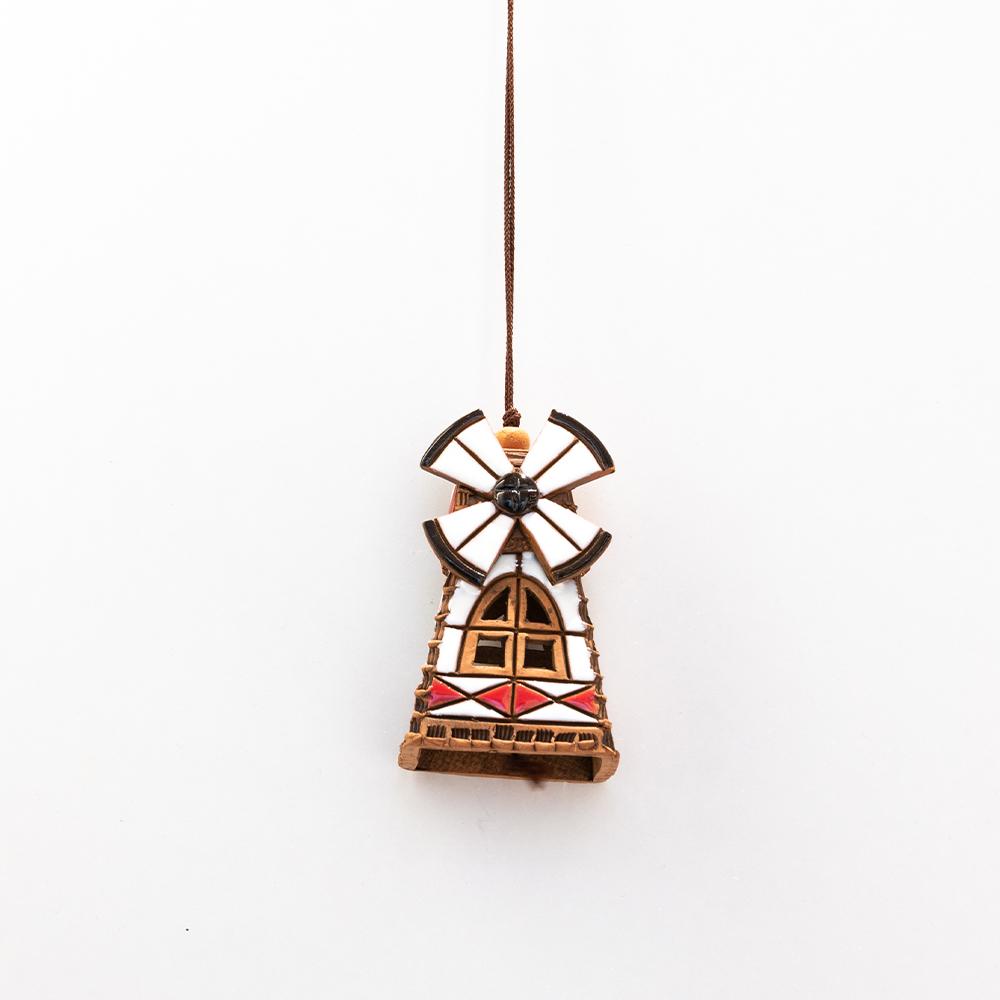 dzwonek wiatrak ceramiczny