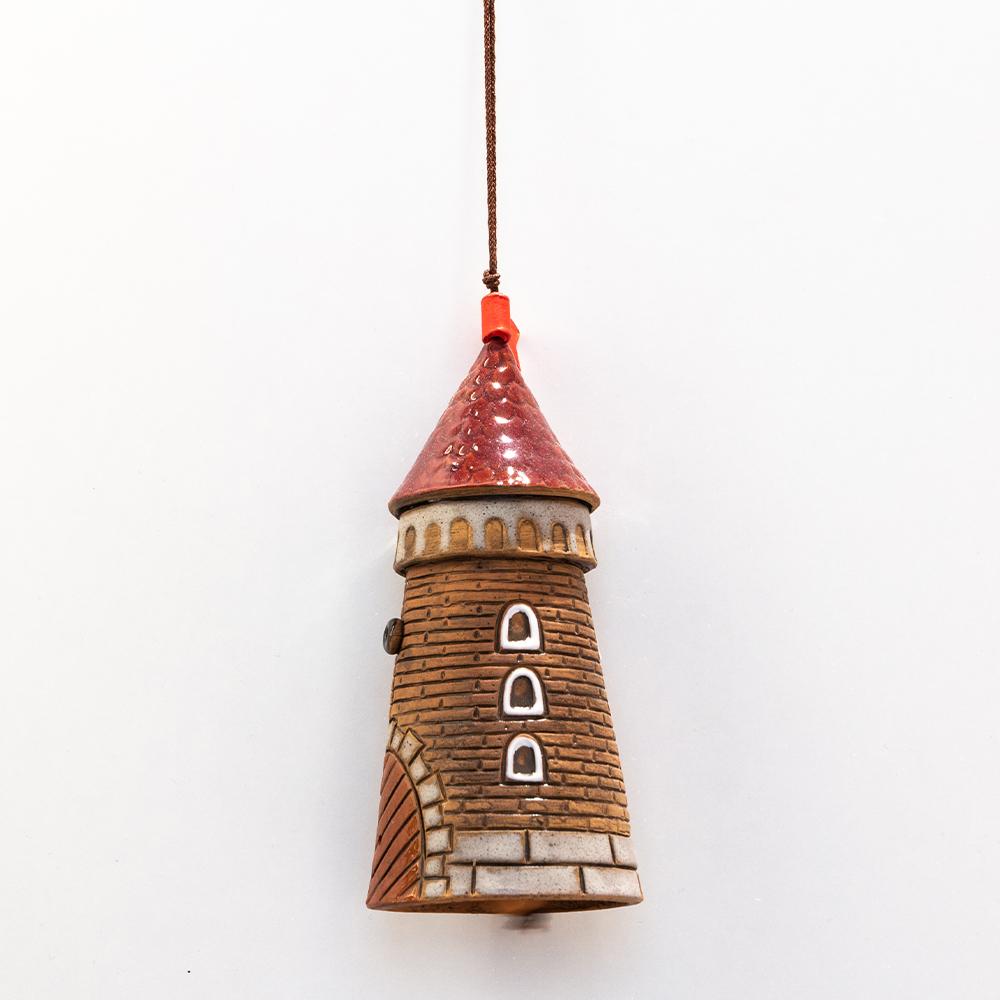 dzwonek ceramiczny wieża