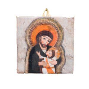 Św. Józef obrazek ceramiczny