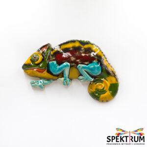kameleon ceramiczny zawieszka