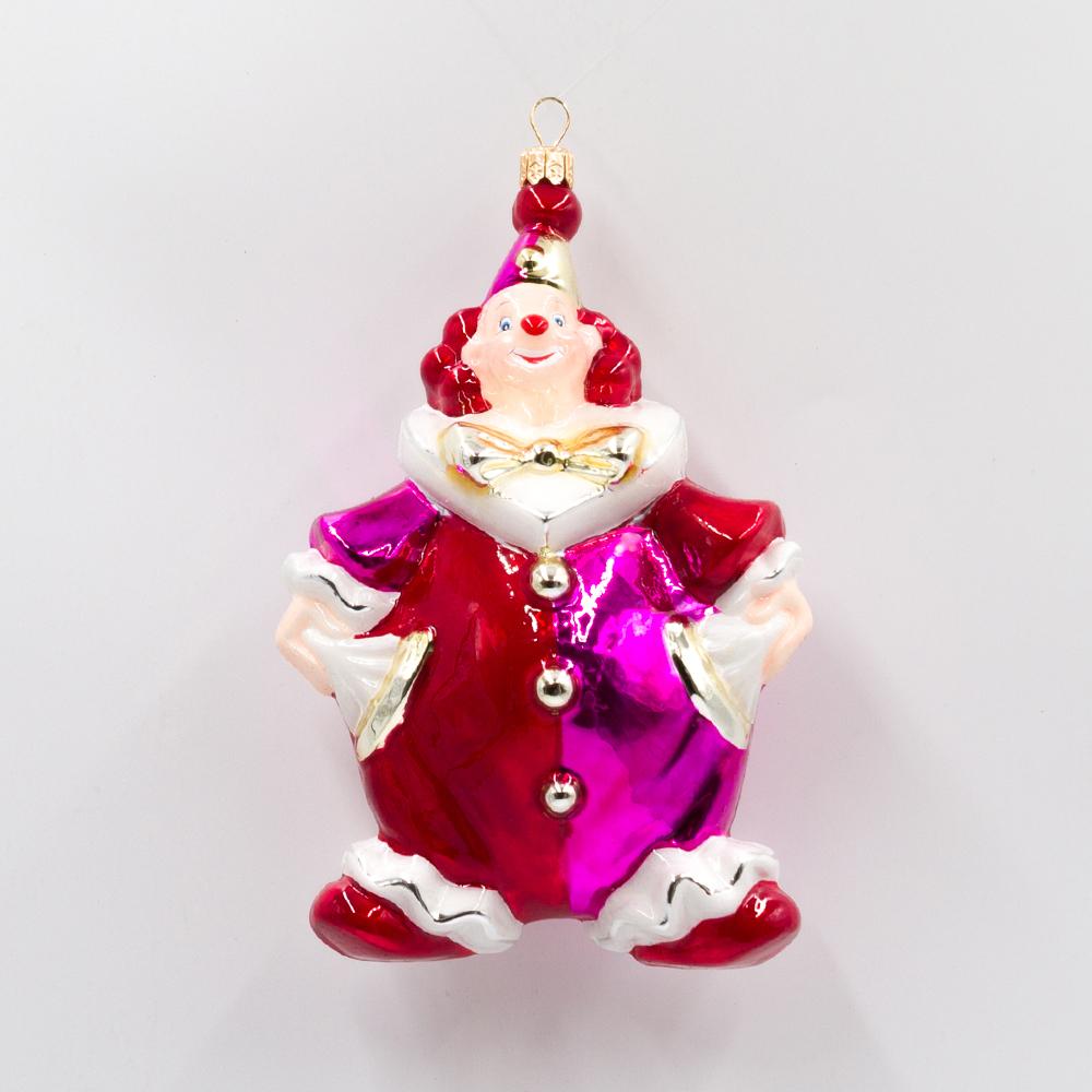 klaun z pomponem