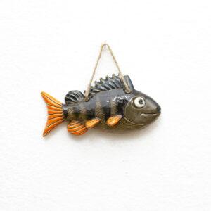 ryba okoń ceramiczny