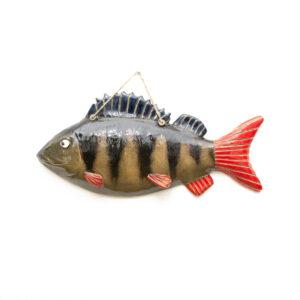 ryba ceramiczna okoń