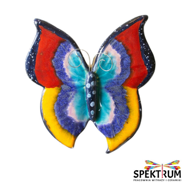 motyl ceramiczny