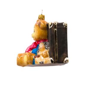 miś i język z walizką