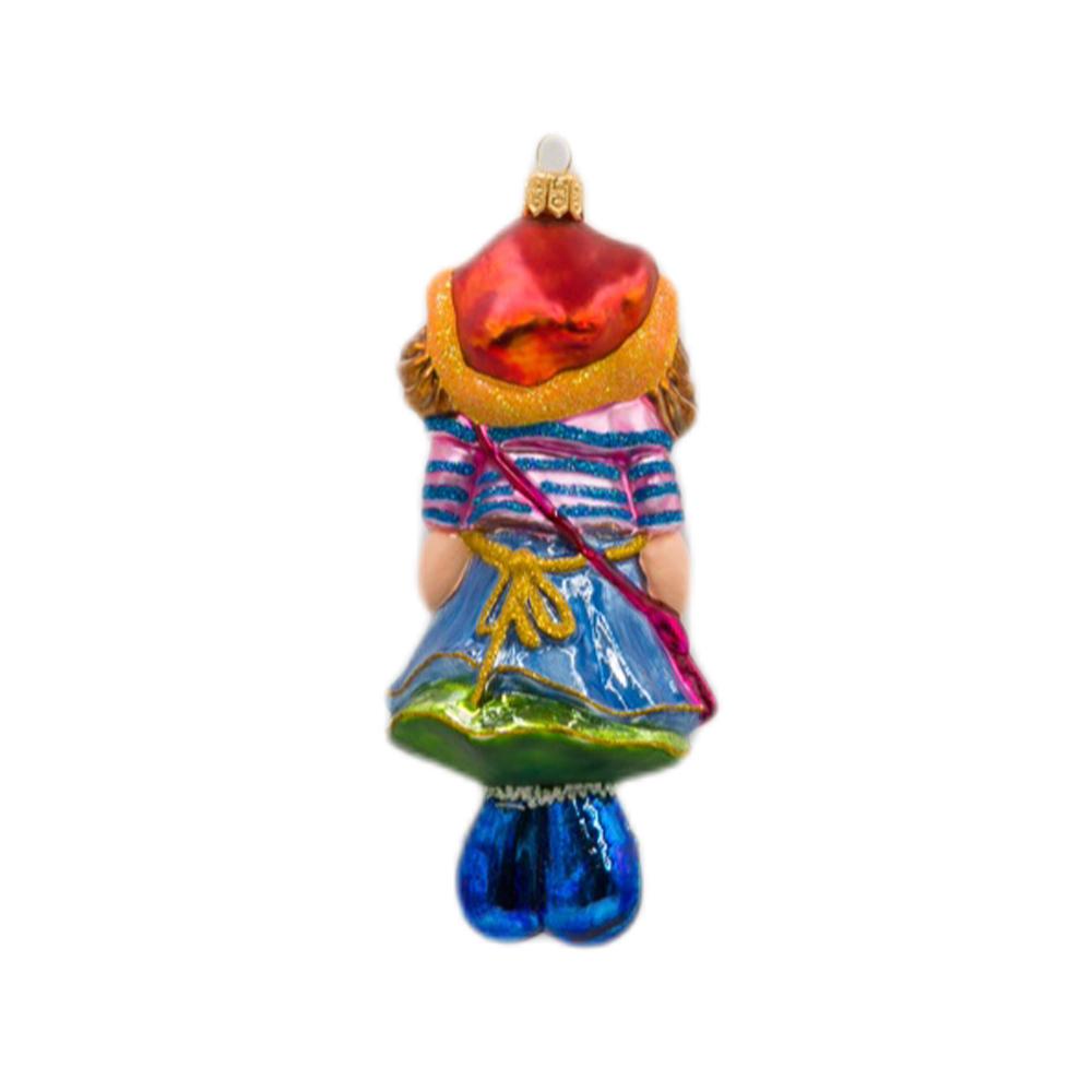 Lalka szmaciana z torebką